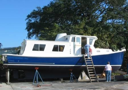 Charis, a lobster boat conversion - Trawlers & Trawlering